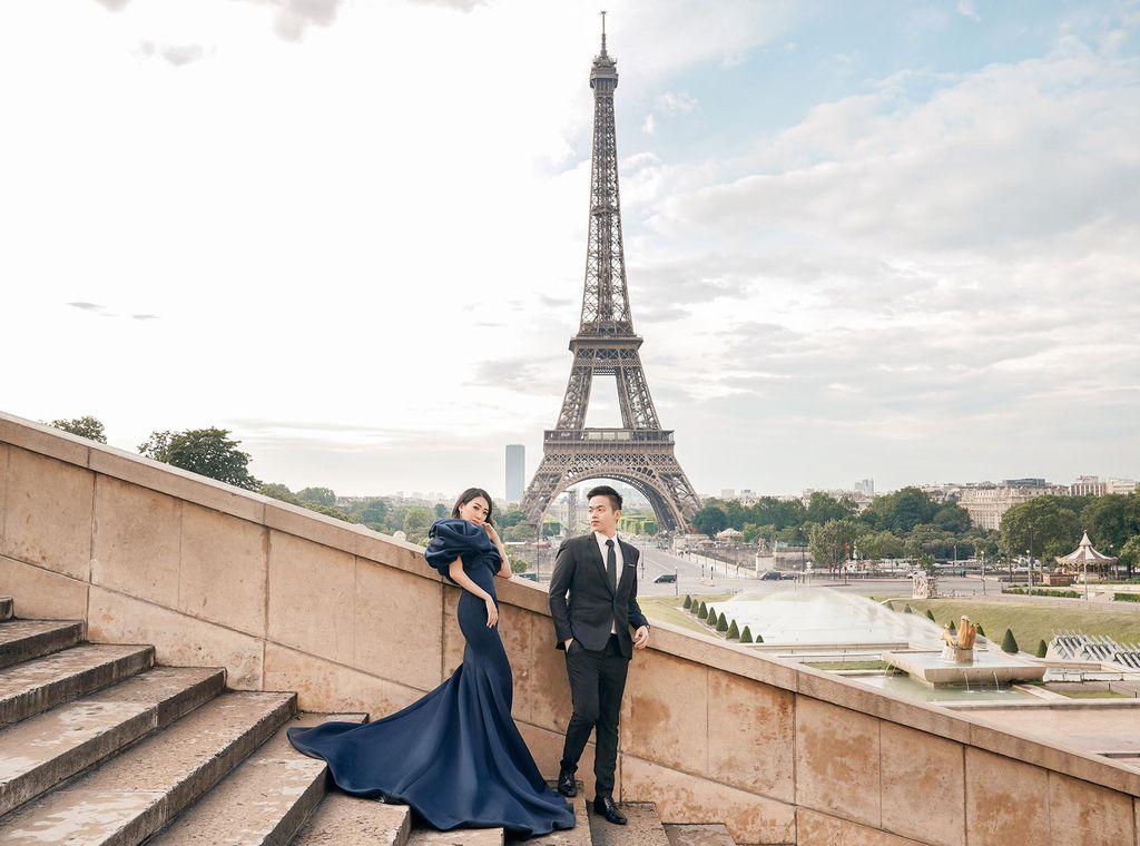 Paris Pre-wedding by Dicky