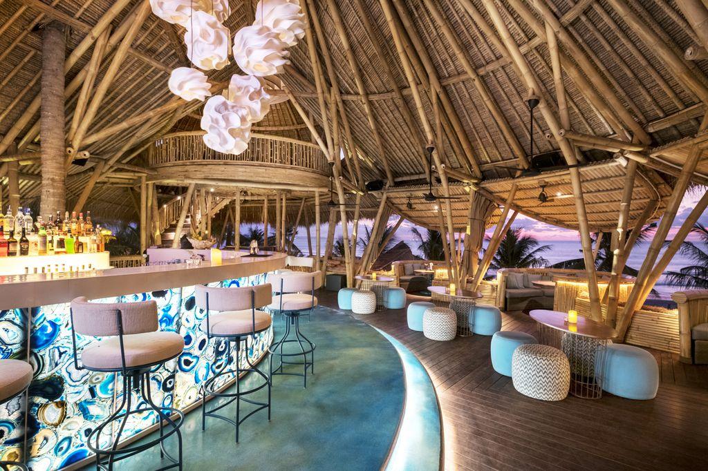 Azul Beach Club Dining Area