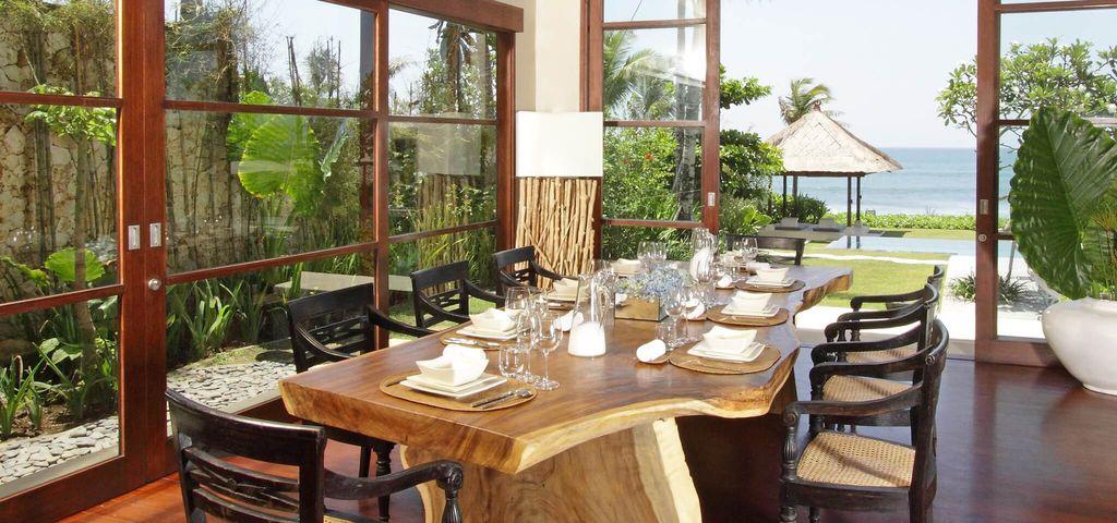 Dining Area of Villa Melissa - Pantai Lima Estate