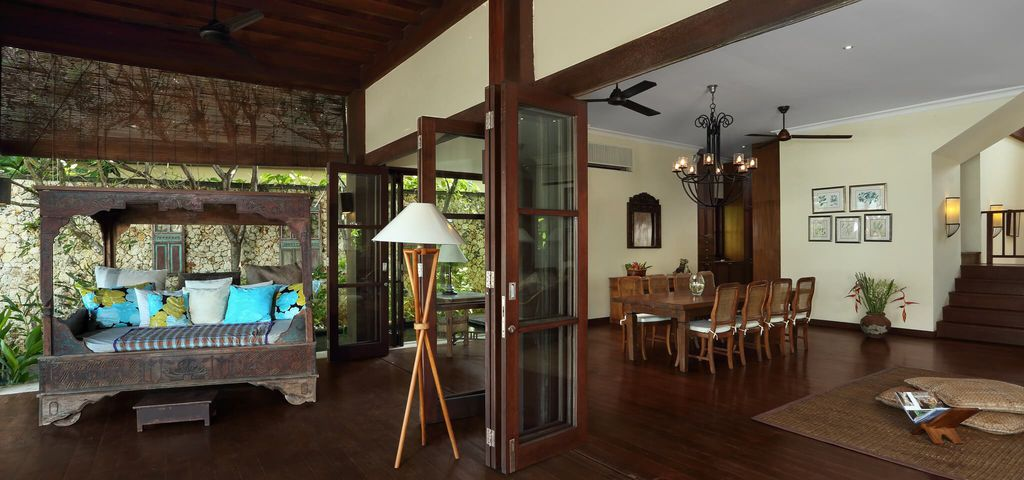 Dining Room of Villa Waringin - Pantai Lima Estate