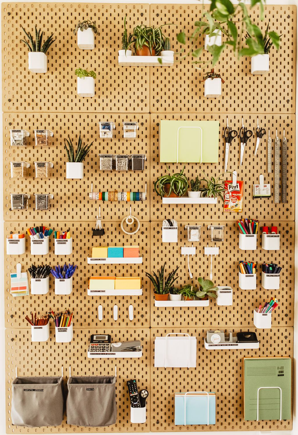 Stationery wall