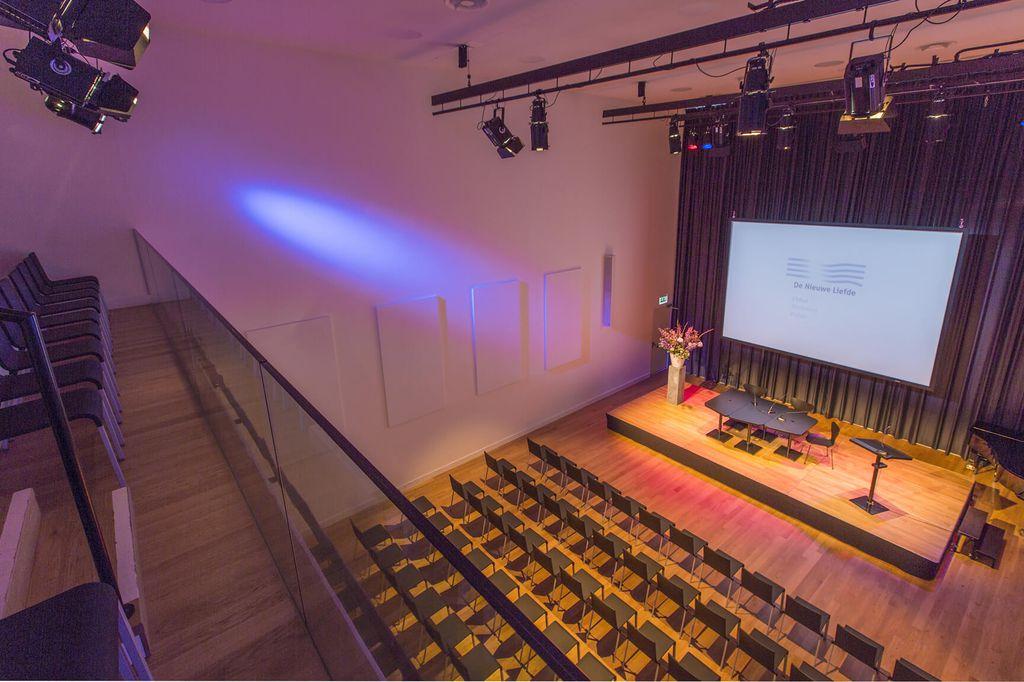De Nieuwe Liefde - Grote zaal - Theateropstelling top view