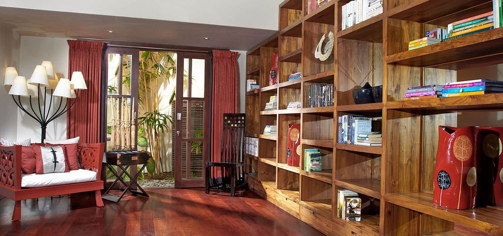 Library of Villa Ambra - Pantai Lima Estate