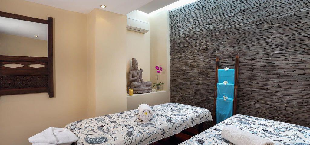 Massage Room of Villa Waringin - Pantai Lima Estate