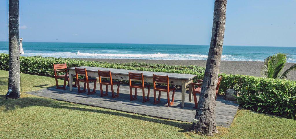 Outdoor Dining Area of Villa SOS - Pantai Lima Estate