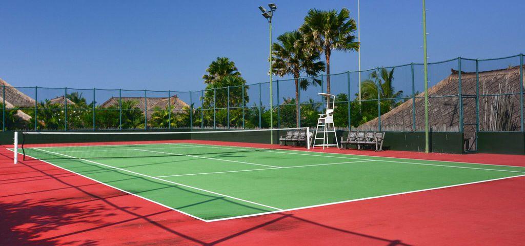 Tennis Court of Villa Waringin - Pantai Lima Estate
