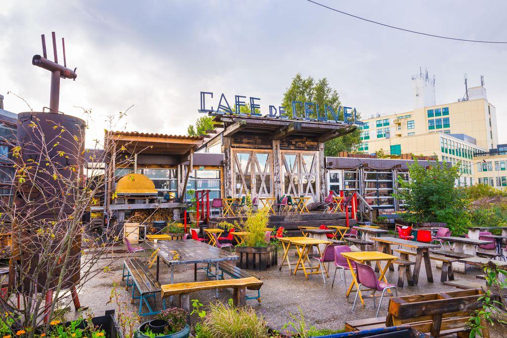 Terrace Café de Ceuvel