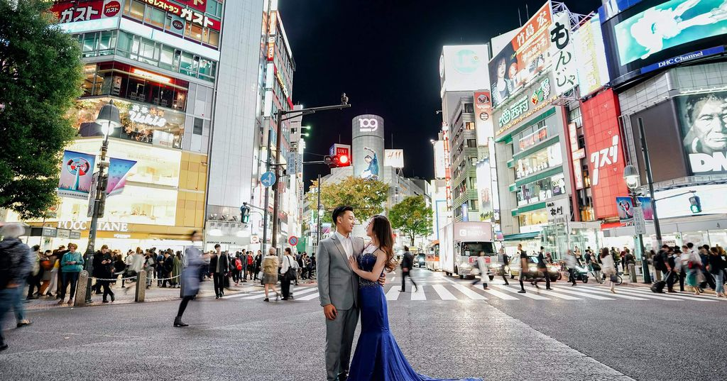 Christian & Claudia | Couple session Japan