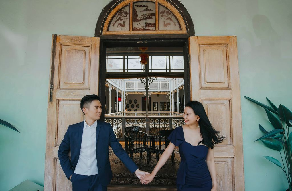 Yu & Maria | Couple session Penang