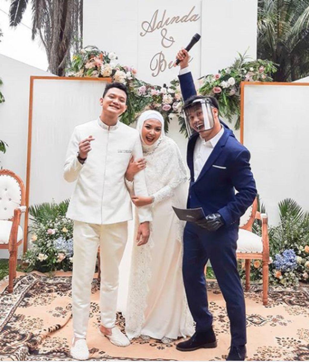 MC Akad Nikah Adinda & Bian at Jakarta