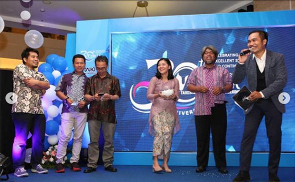 MC 30th Anniversary PT Taikisha Indonesia Engineering (Bilingual Indonesia & English)