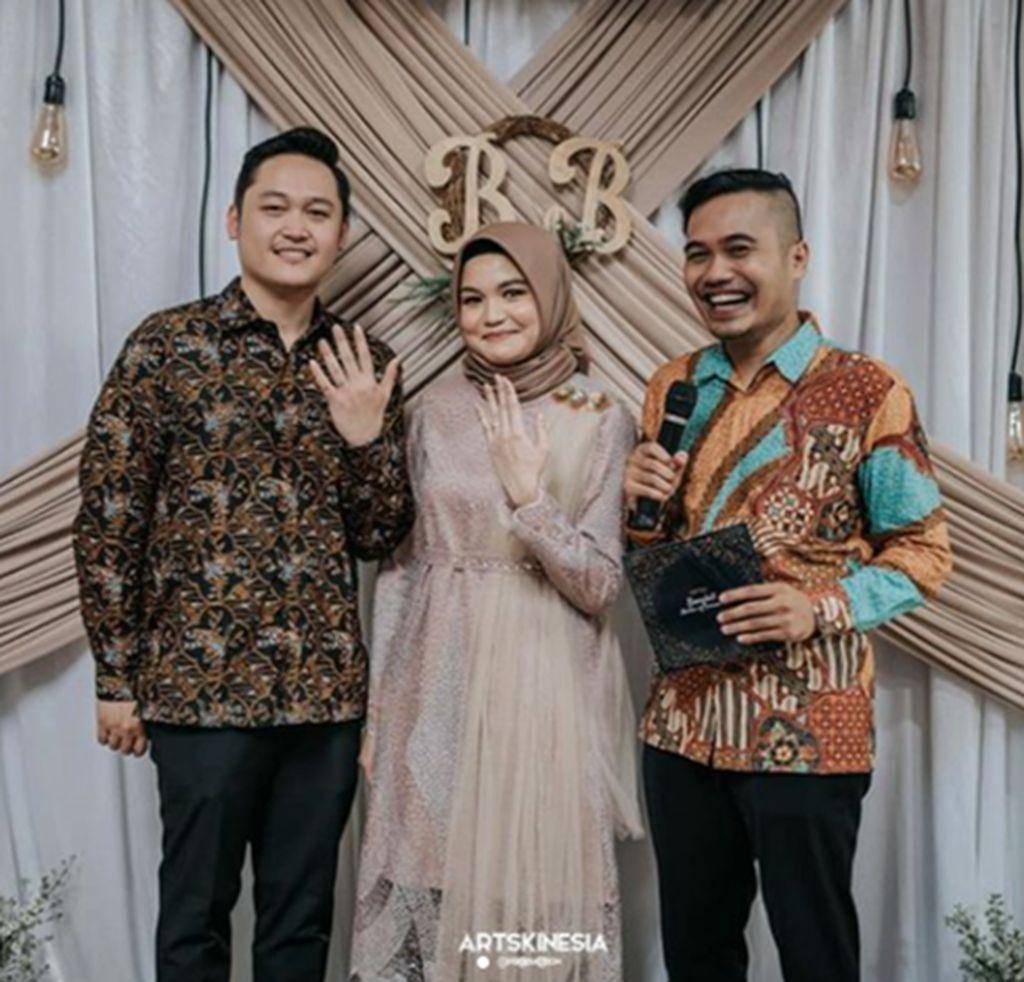 MC Engagement Bimo & Binta in Bekasi