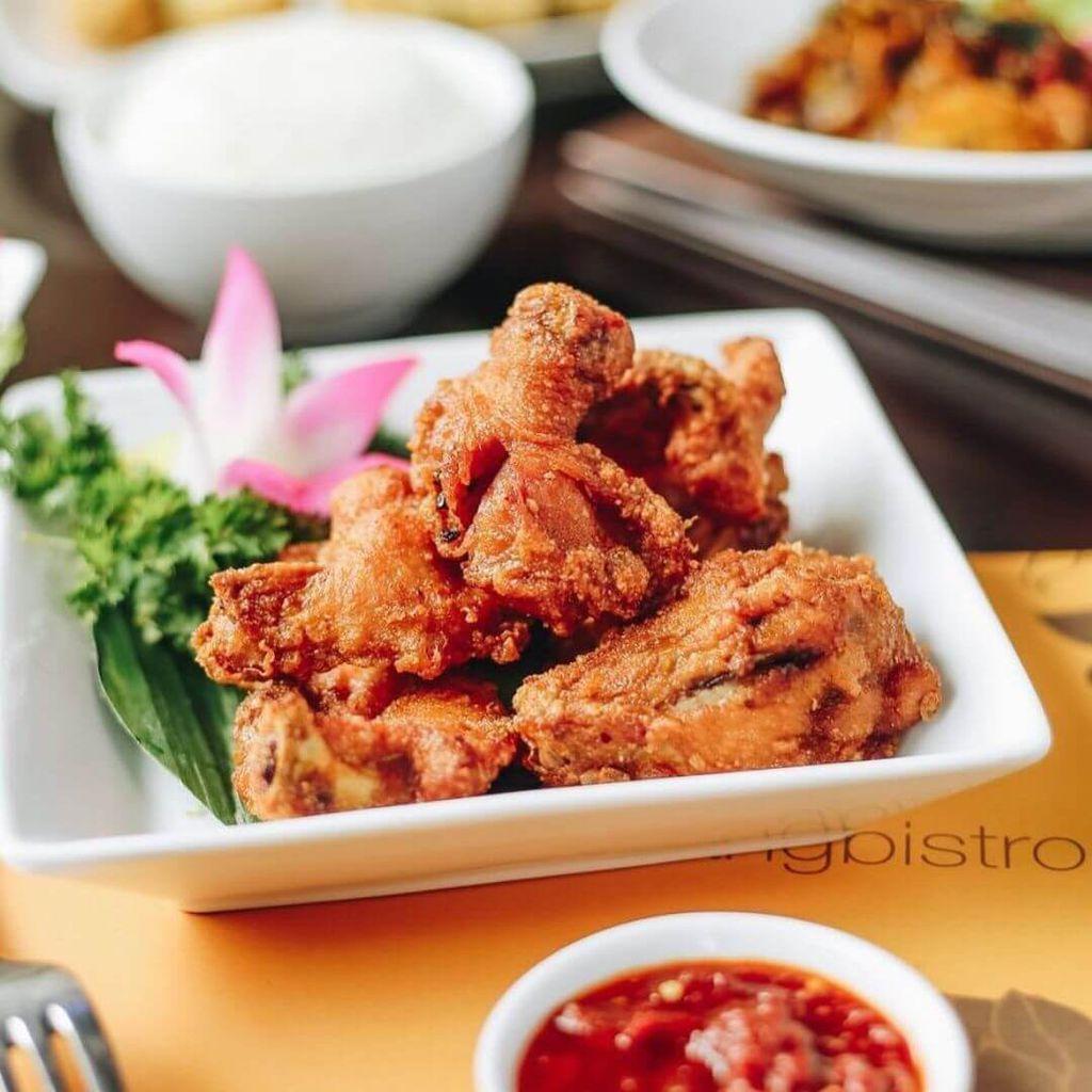 Food at Penang Bistro
